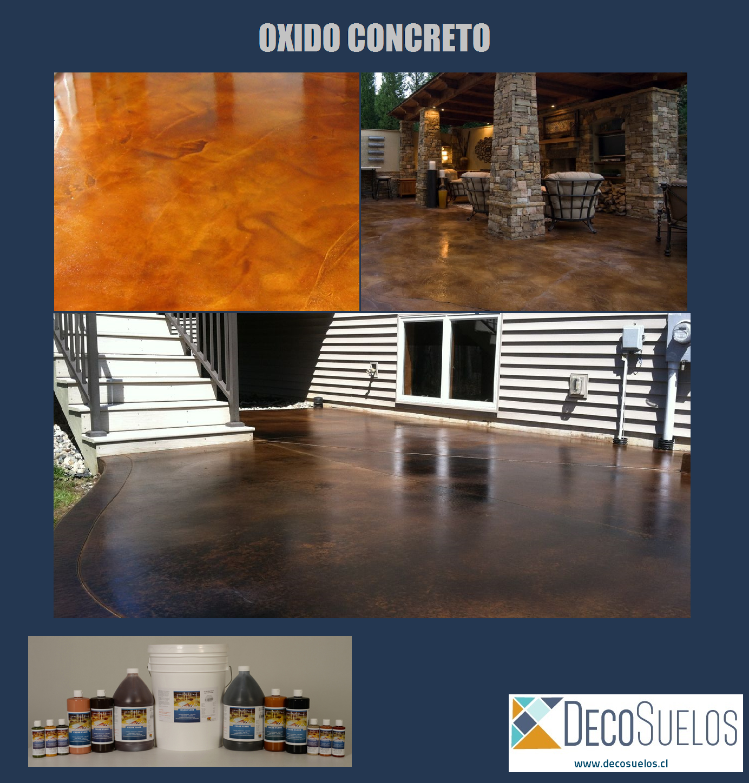 Oxido Concreto - Oferta Octubre